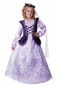 Child's Deluxe Violet Royal Princess Costume
