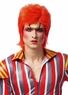 Glam Rocker Red-Orange Wig