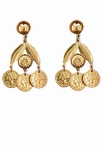 Gold Coin Earrings