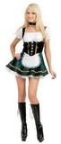Green Beer Garden Girl Costume