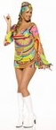Plus Size Hippie Go Go Dress