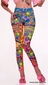 Hippie Graphic Psychedelic Leggings