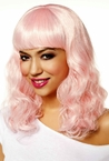 Icy Pink Party Girl Wig