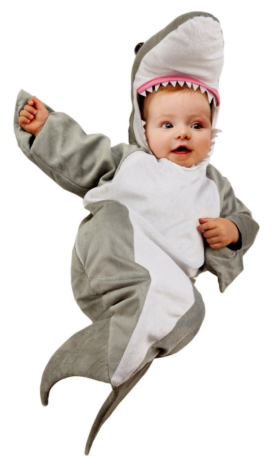 Infant Shark Bunting Costume Candy Apple Costumes Kids