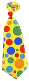 Jumbo Polka Dot Clown Tie - More Colors
