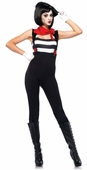Leg Avenue Women's Marvelous Mime Sexy Costume