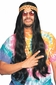 Long Black Hippie Wig