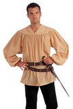Medieval Costume Shirt - Adult or Plus Size