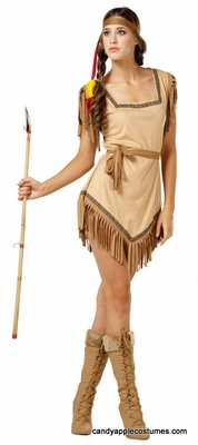 Naughty Galilahi Adult Indian Costume Plus Size