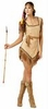 Naughty Galilahi Adult Indian Costume (Plus Size)