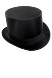 Permasilk Black Top Hat