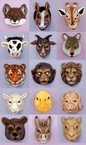 Plastic Animal Mask