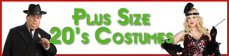 Plus Size 20's Costumes