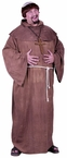 Plus Size Adult Medieval Monk Costume With Wig