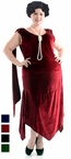 Plus Size Adult Sandy Speakeasy Flapper Costume - More Colors