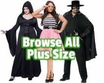 Browse All Plus Size Costumes