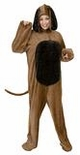 Plus Size Deluxe Adult Big Brown Dog Costume