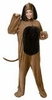 Deluxe Adult Big Brown Dog Costume