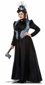 Plus Size Lizzie Borden Victorian Lady Costume