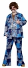 Plus Size Men's Boogie Nights 70's Leisure Suit Costume