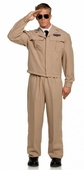 Plus Size Men's High Flyer WWII Pilot Costume