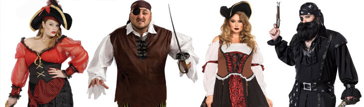 Plus Size Pirate Costumes