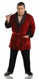 Plus Size Playboy Men's Smoking Jacket Costume