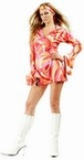 Plus Size Slick Chick Go Go Dress Costume