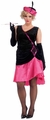 Plus Size Women's Penny Pink Flapper Costume
