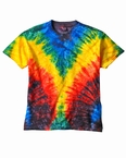 Plus Size Woodstock Tie Dye Tee  Shirt
