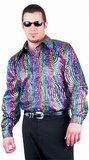 Rainbow Swirl Disco Shirt (Plus Size)