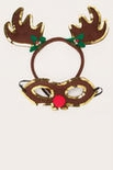 Reindeer Antler Headband and Mask
