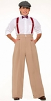 Roaring 20's Deluxe Men's Costume Pants
