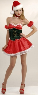 Santa's Little Ho Ho Ho Costume