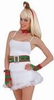 Sexy Elf Hat, Belt and Gloves Costume Kit