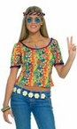 Sexy Hippie Shirt 70's Costume