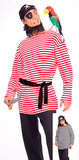 Striped Pirate Matie/Clown Shirt