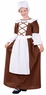 Teen/Tween Colonial Peasant Girl Costume