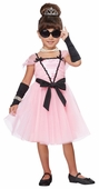 Toddler/Child Pink Retro Movie Star Costume