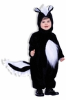 Toddler/Child Plush Skunk Costume