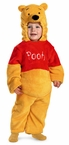 Infant/ Toddler Winnie The Pooh Deluxe Plush Costume
