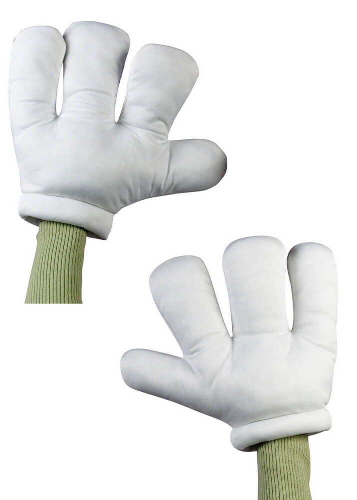 White Cartoon Hands Gloves - Candy Apple Costumes - Mickey ... Funny Adults Cartoon Image
