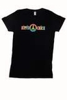 Women's Hippie Chick Black T-Shirt