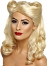 Women's 1940's Blonde Pin Up Girl Wig
