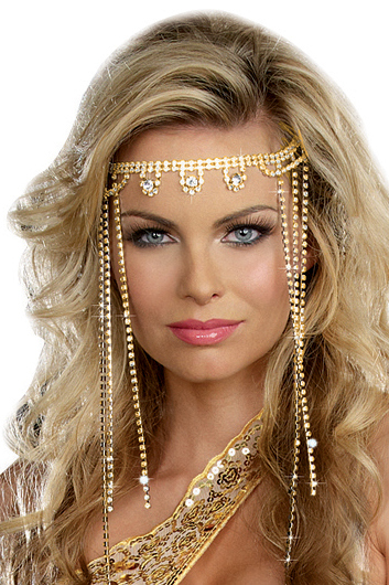 Women S Shimmering Rhinestone Goddess Headpiece Greek