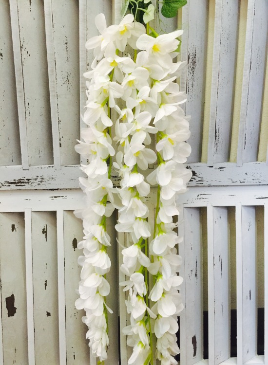 Artificial Hanging Orchid White 10 Quot Stem One 35