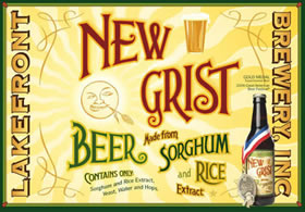 New Grist Gluten Free 12oz Btl 24 Pack