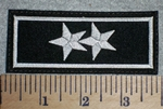 2 Stars - Embroidery Patch