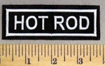 2496 L - Hot Rod - Embroidery Patch