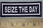 3630 L - Seize The Day - Embroidery Patch